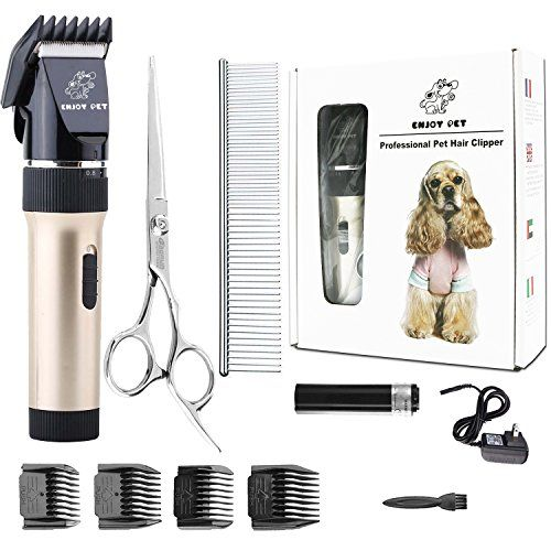 Wahl 095912100 Lithium Ion Rechargeable Deluxe Pro Series Pet Clipper Kit Cordless Rechargeable Clippers Pet Grooming Kit Pet Grooming Grooming Grooming Kit
