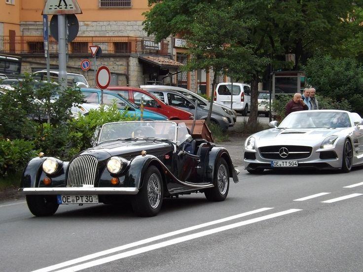 Gruppi di appassionati per la Mille Miglia - Foto e video - Gazzetta di Modena