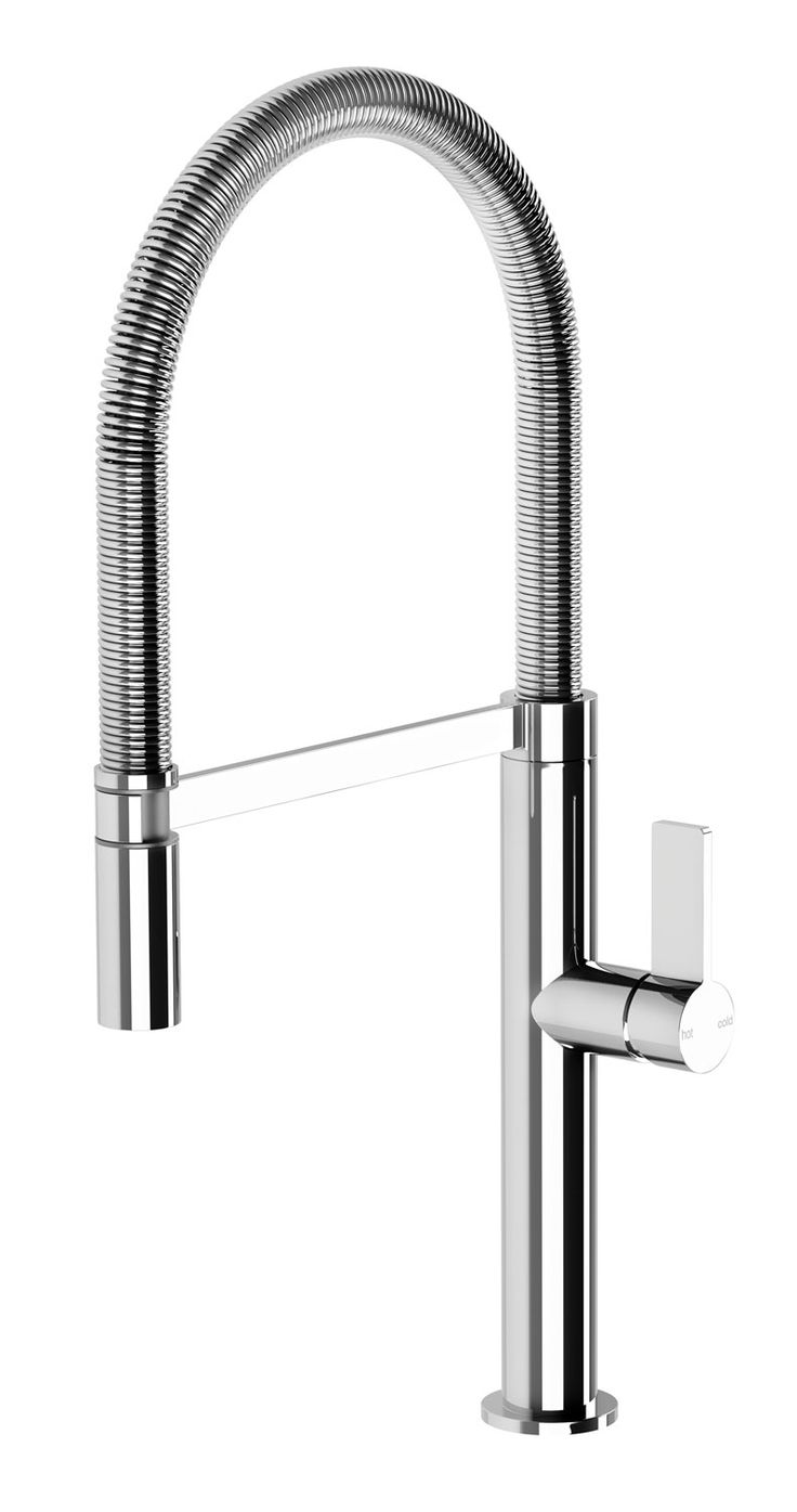 The milli glance wall basin mixer set is captivating from the first - Phoenix Tapware Prize Flexible Coil Sink Mixer Kitchen Ideas And Inspiration