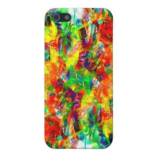 SOLD Colorful paint Speck Case Case For iPhone 5