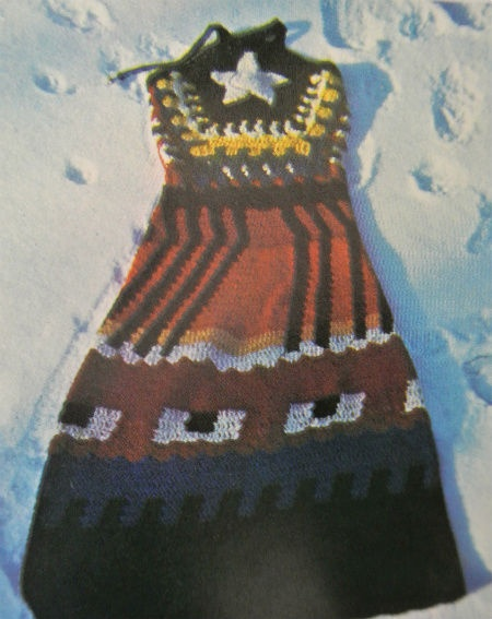 1970s crochet dress, Jean Williams Cacicedo
