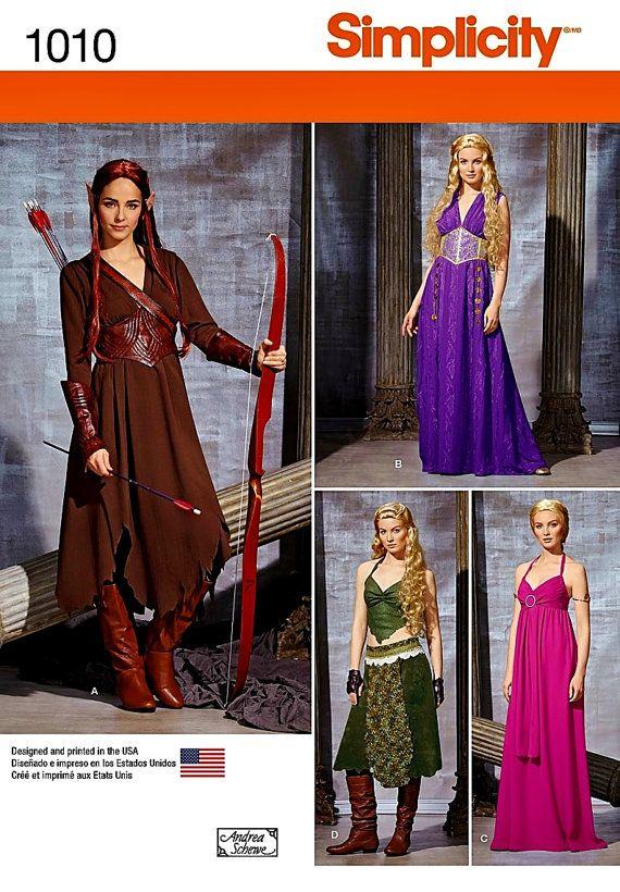Costumi Costumi/Cosplay Fantasy. Non so molto sui costumi di fantasia, ma sembra che ho visto queste signore nei film. =) Modello…
