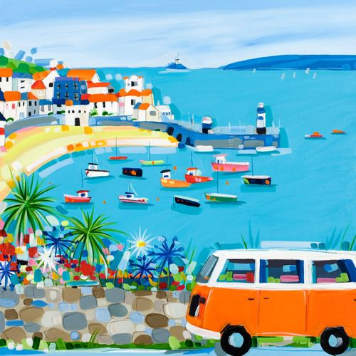 Wonderful art by Janet Bell...from Janet Bell Gallery - art and hand made crafts from the seaside (make my heart beats faster when i saw her pictures! wonderfulll :D )