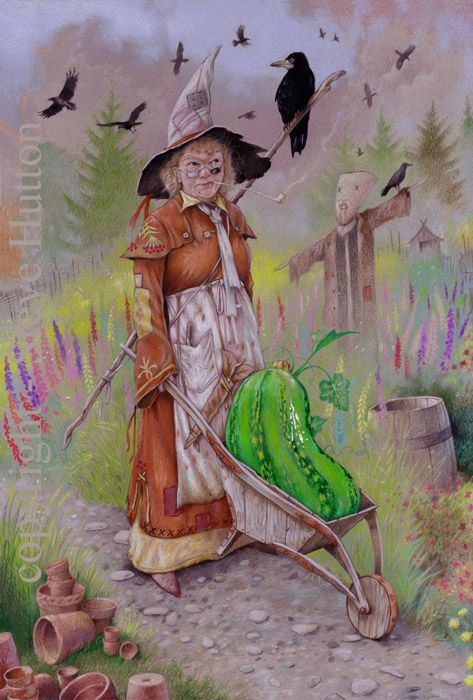 Ada Crabbe - Wildwood Witches -Art by Steve Hutton