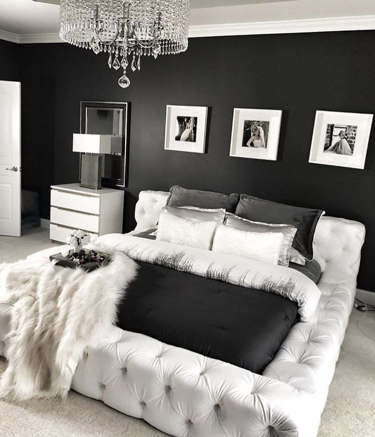 Most Recent Pics Bedroom Ideas Black Tips In 2021 Luxurious Bedrooms Luxury Bedroom Master Bedroom Decor Black and white luxury bedroom