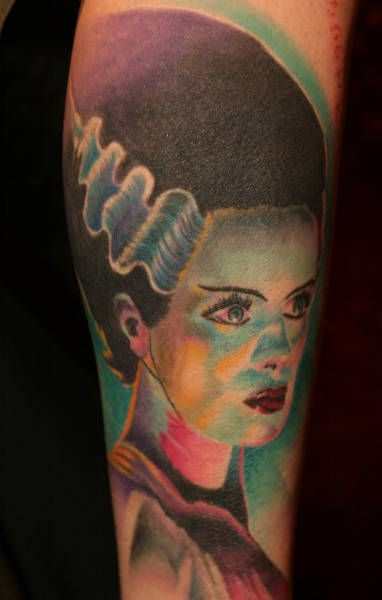 halloween tattoos | Halloween Tattoos - Horror Macabre and Popular Scary Movie Characters