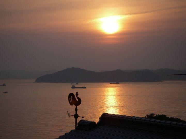 男木島 風見鶏  Ogijima Weathercock