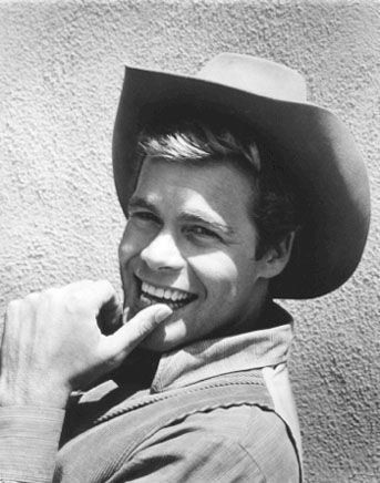 Doug McClure as Trampas in The Virginian - He made my fourteen-year-old heart go KA-WHUMP!
