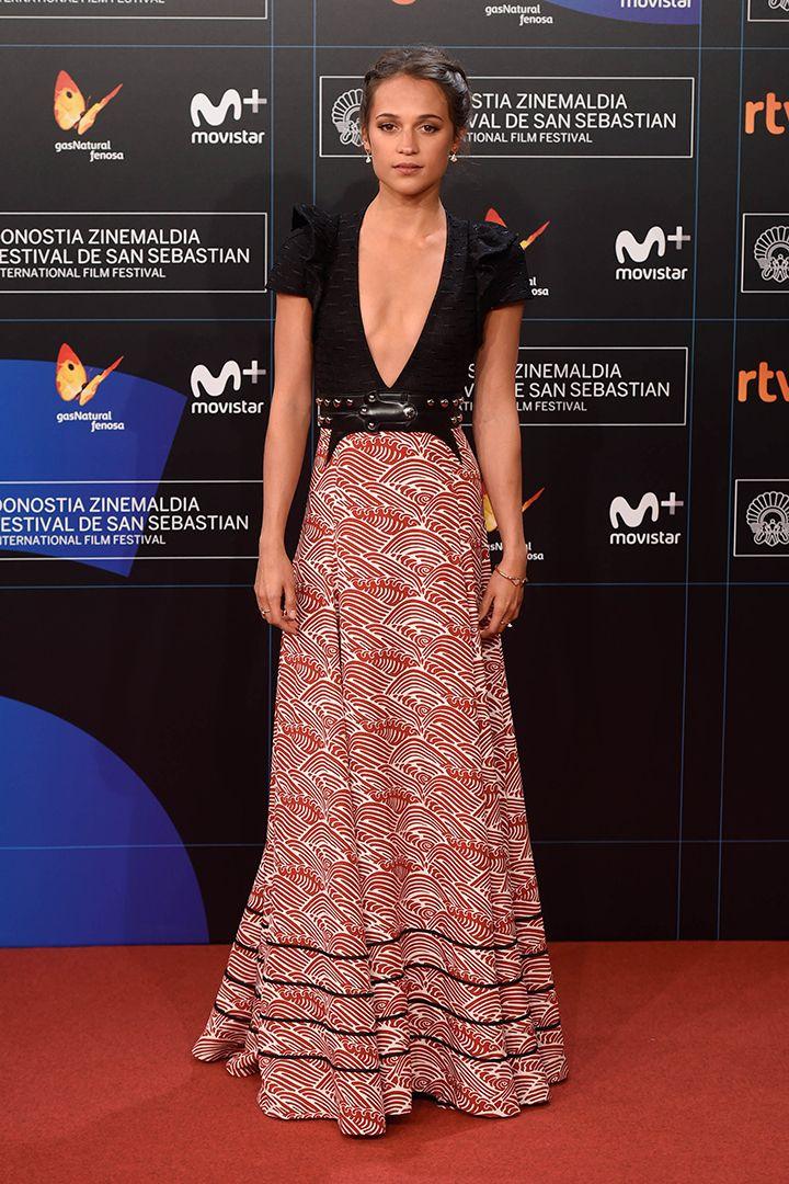 65º edición del Festival de Cine de San Sebastián: toda la alfombra roja