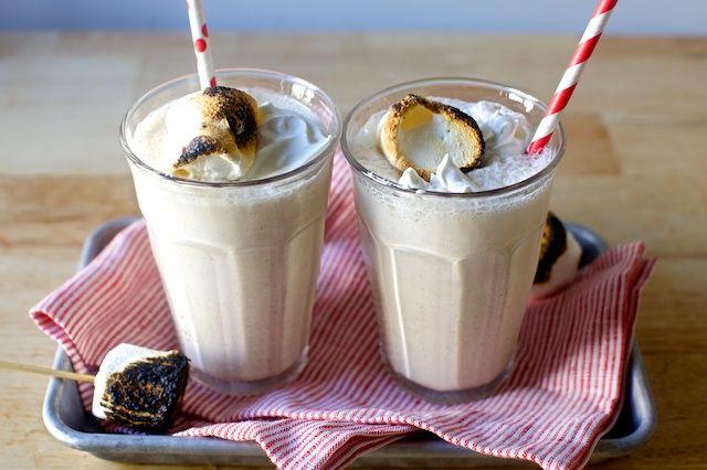 toasted marshmallow milkshake | smittenkitchen.com