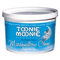 Toonie Moonie Organic Marshmallow Creme by Toonie Moonie Organics - Finally, color dye free marshmallow fluff for fudge & rice crispies!!