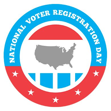On Sept. 22, we celebrate democracy across the nation! It's National Voter Registration Day!