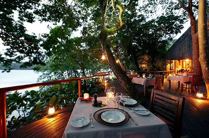 Fall in love all over again when you indulge in a candlelit private dinner