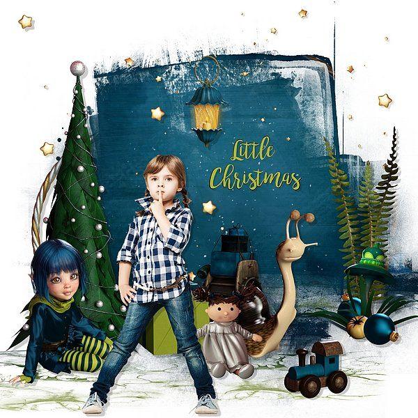 Little Christmas by Bel Scrap Brush by Tiramisu Designs Photo Voronova Julia