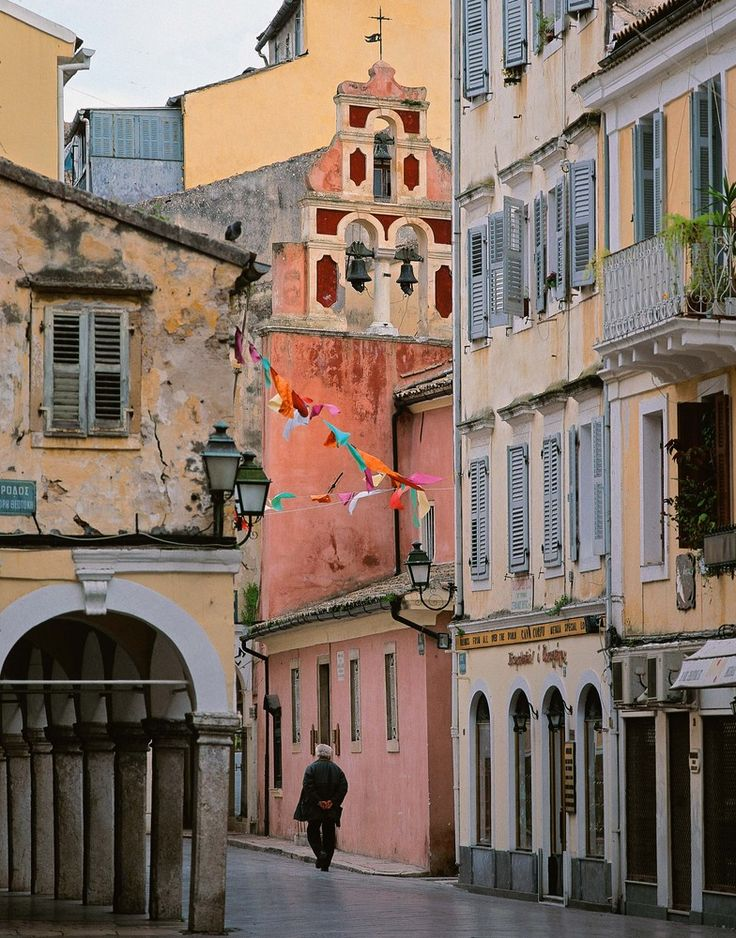 our street-nikiforou theotoki right in the centre of the old town  #corfutown #travel #mezzomezzo #mezzomezzocorfu #architecture