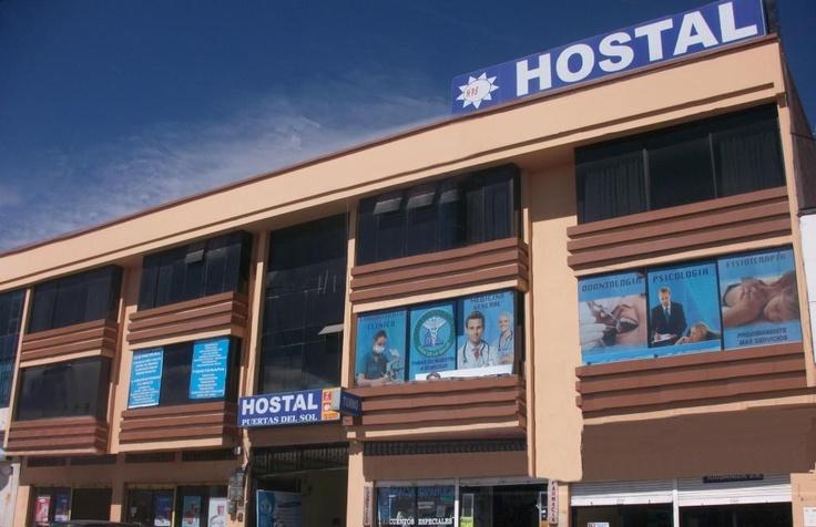 Hostel Puertas del Sol Riobamba -  Terminal Oriental  Habitaciones desde $6.50 -  http://www.aquiecuadortravel.ec/hostal_puertas_del_sol.html
