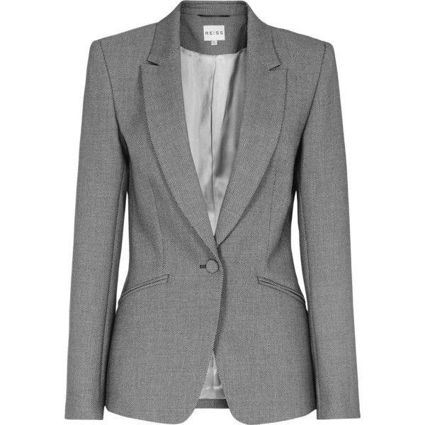 Reiss Millie Slim Tailored Blazer found on Polyvore
