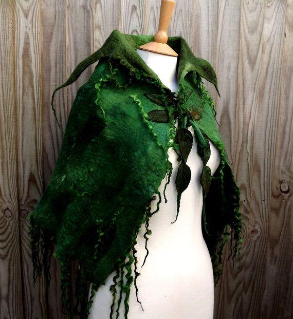 Handgemachte grüne Kap-gemacht für Sie-Wild Moss von folkowl