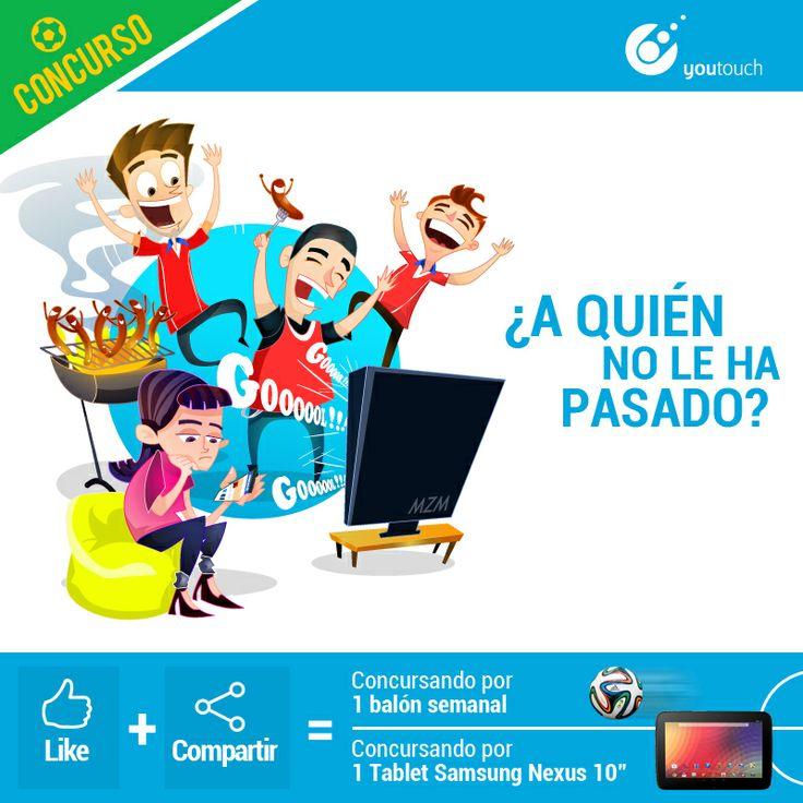 Nuestra segunda ilustración ya se encuentra en nuestro fans Page síguenos en Youtouch y participa por una brazuca todas las semanas!!!