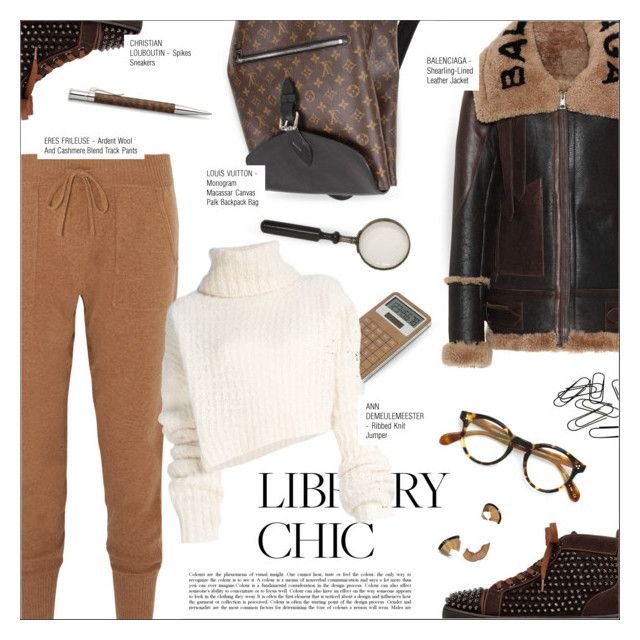 """WORK HARD, PLAY HARD: FINALS SEASON"" by larissa-takahassi ❤ liked on Polyvore featuring Eres, Balenciaga, LEXON, Ann Demeulemeester, Louis Vuitton, Oliver Peoples, Faber-Castell, Bobbi Brown Cosmetics, louisvuitton and christianlouboutin"