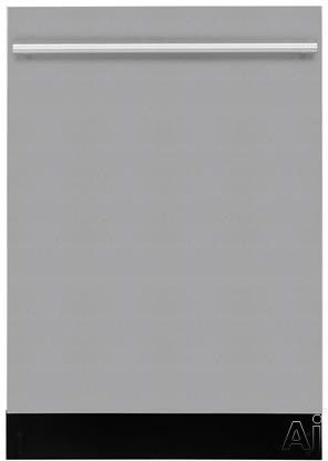 Blomberg DWT57500 Fully Integrated Dishwasher with 12-Place Settings 7 Programs 4 Wash Temperatures Brushless DC Motor Turbo Fan Drying Removable 3rd Rack 46 dB Silence Rating and Energy Star Rated