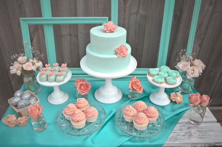 coral baby shower - Google Search