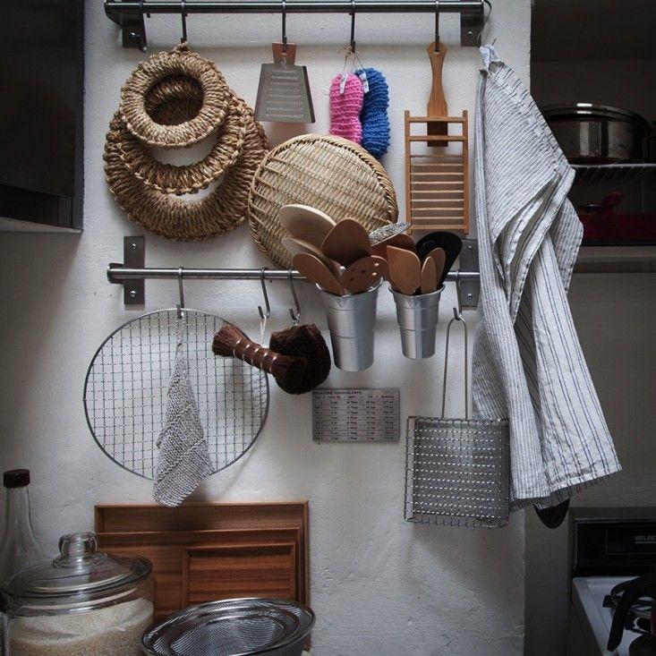Ultimate Budget Storage: 10 Kitchens With Ikeau0027s Grundtal Rail System