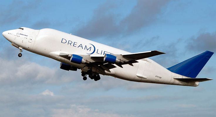 Boeing 747 Large Cargo Freighter Dreamlifter