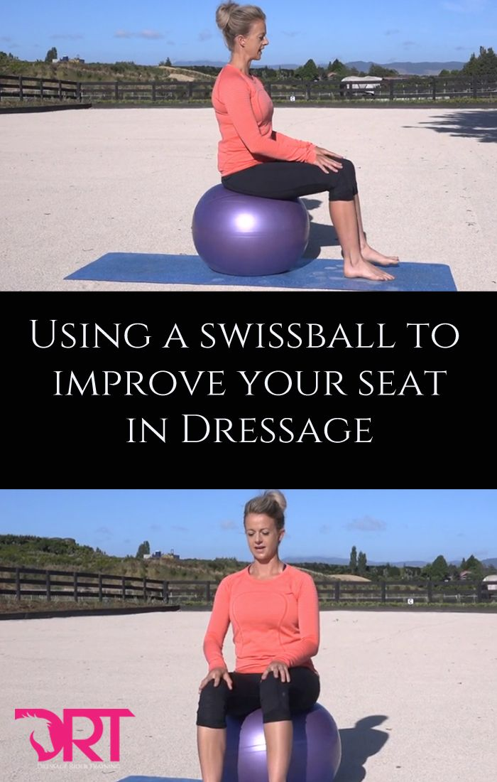 A swissball is a valuable tool to help create the feeling of...