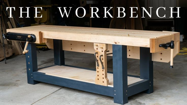 The PERFECT Woodworking Workbench // How To Build …