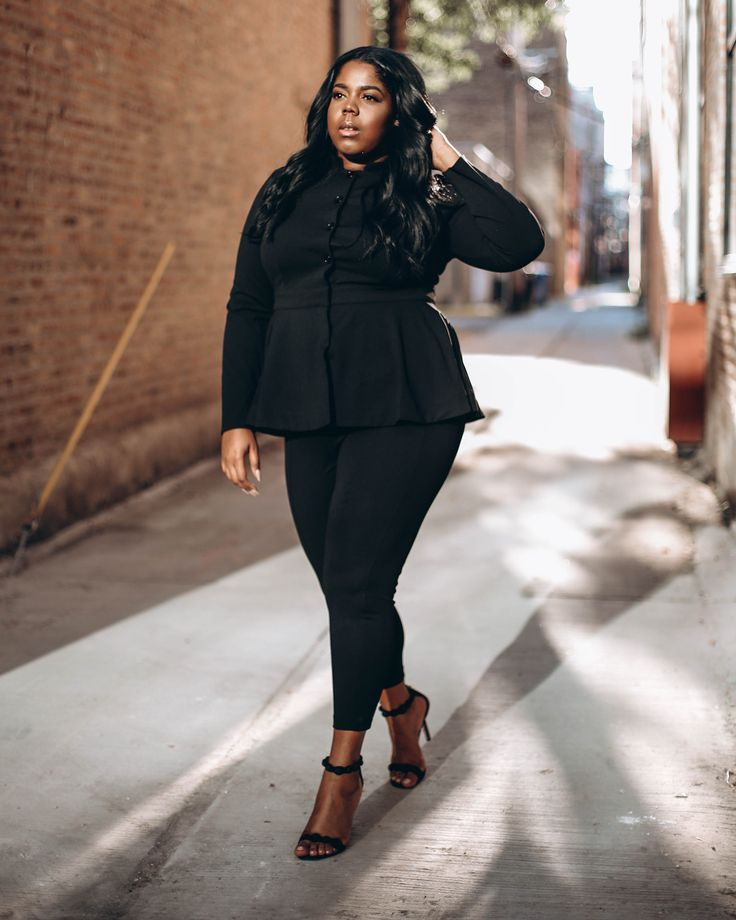 Pin by TAHJE' on CURVES AHEAD | Fashion, Plus size fashion