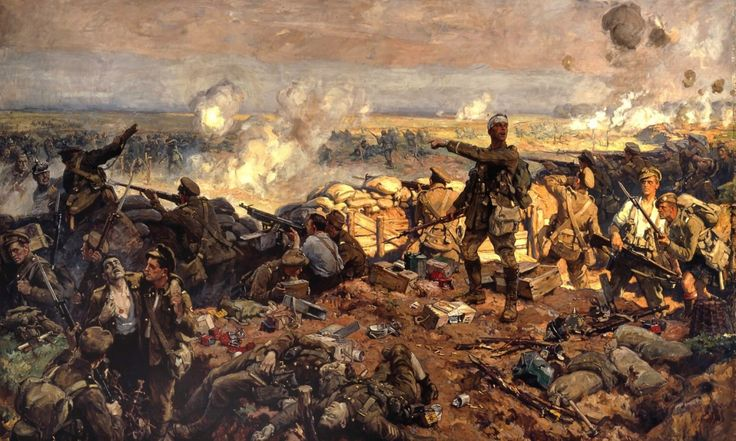 1915 05 Canadienses segunda batalla de Ypres - Richard Jack