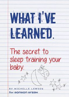The gentlest and most effective way to teach your baby to sleep through the night! #BabyWhisperer #SleepTraining