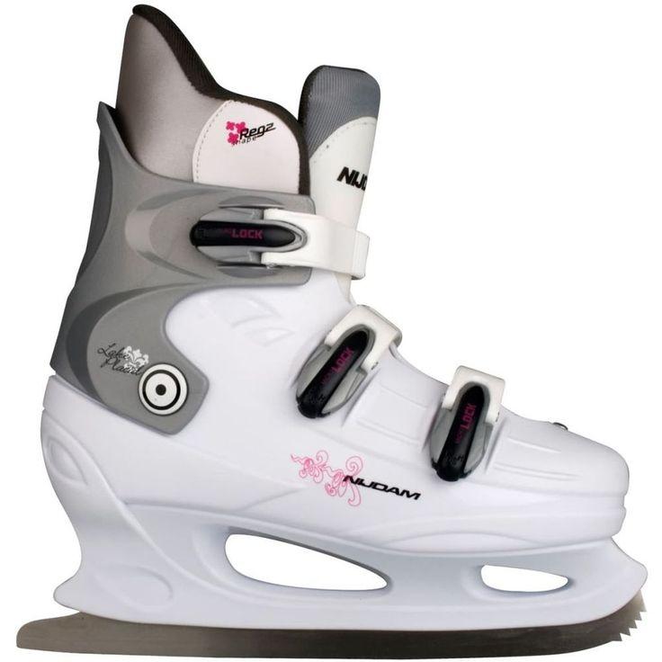 Figure Skating Shoes Sport Activity Figure Skates White Fuchsia Women Size 43 #FigureSkatingShoes
