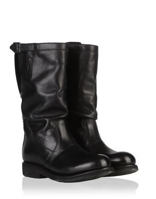 Boots for Women, Booties On Sale in Outlet, Black, Leather, 2017, 3.5 Dirk Bikkembergs