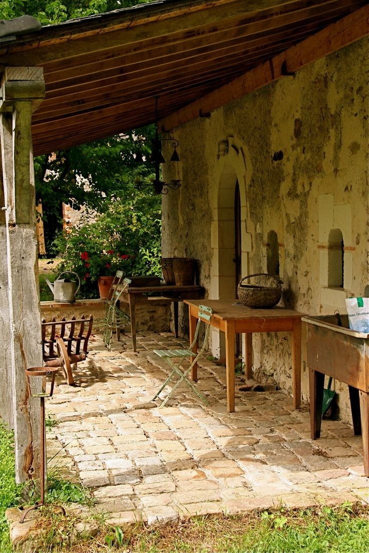 The Barn restored to the standard of rustic chic and serves now as a honeymoon cottage at Moulin Bregeon in France.