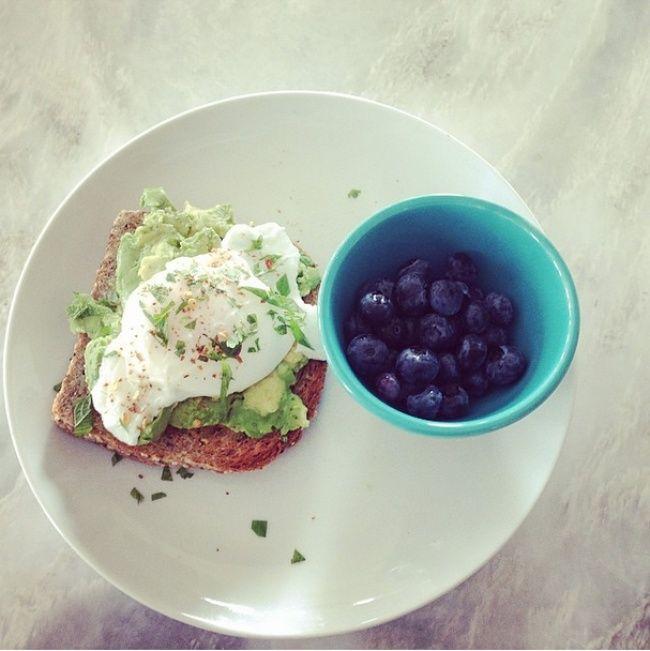 Вот что здоровые люди едят назавтрак