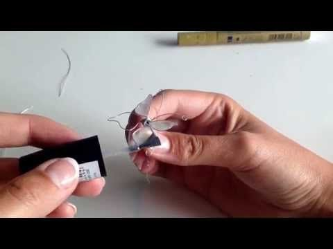 Libelle nagellak - dragonfly nail polish - YouTube
