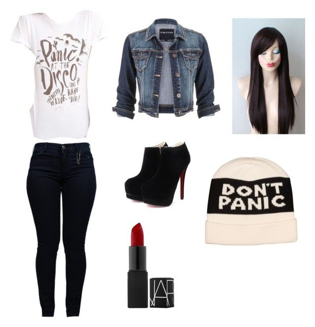 """Panic! At the Disco Outfit"" by aimeevega649 ❤ liked on Polyvore featuring Armani Jeans, maurices, Marc by Marc Jacobs, women's clothing, women's fashion, women, female, woman, misses and juniors"
