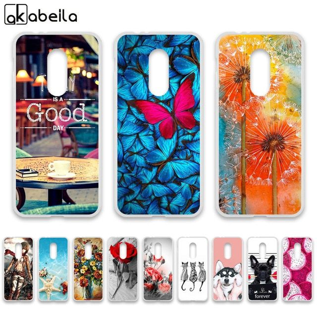 best loved ea3b1 f5eb0 AKABEILA Case For Alcatel 3L 5034D Cases Silicone Flexible Nutella ...