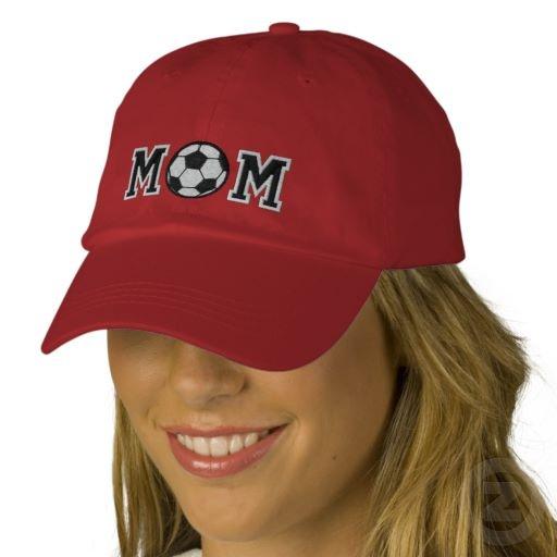 Soccer Mom Baseball Cap http://leukekadootjes.weebly.com/1/post/2013/04/voetbal-moeder.html