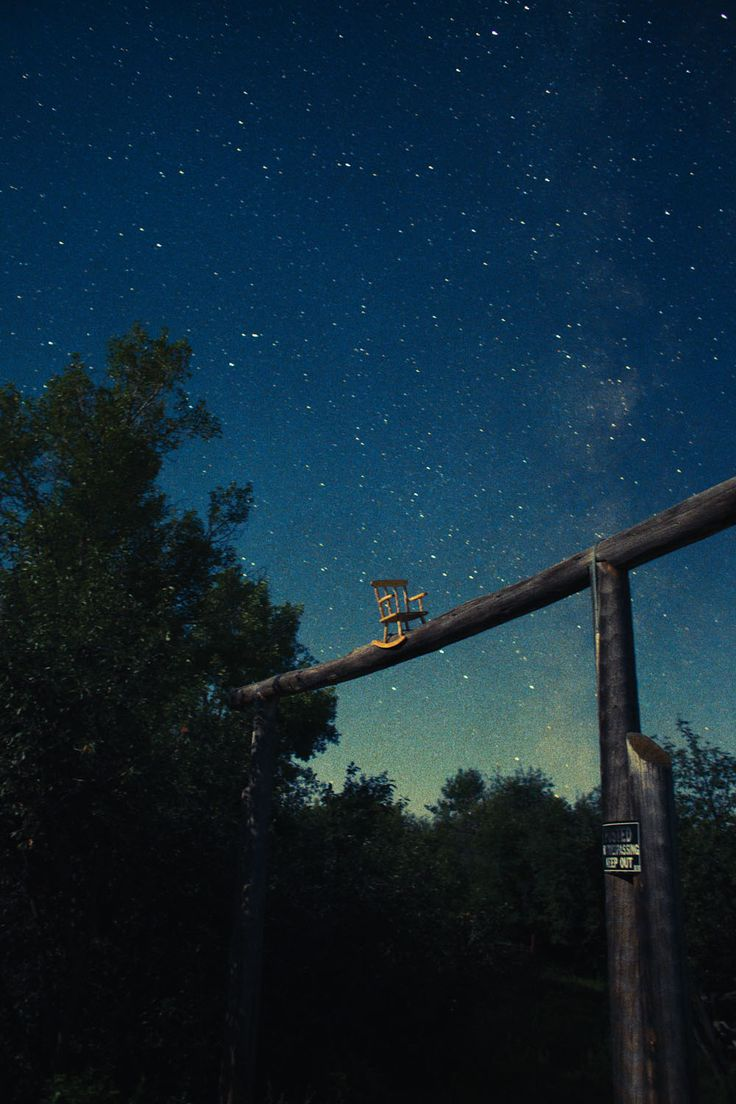 Night Sky (Rocking Chair),  2014