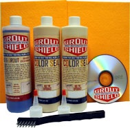 Dye Your Grout | Paint My Grout | Stain Your Grout | Recolor My Grout