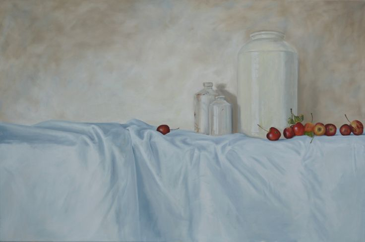 Ten Crab Apples 610 mm 910 mm oil on canvas. #oilpainting #stillife #art