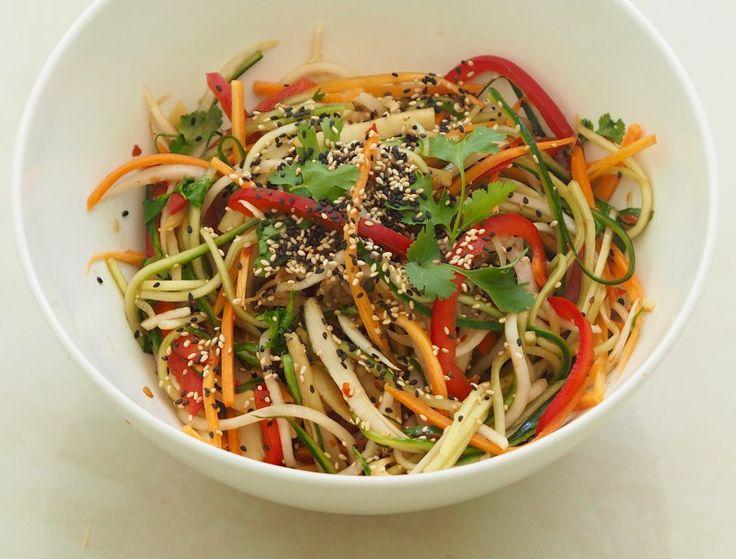 Thai Rettich Salat – Pure Food by Romy Dollé