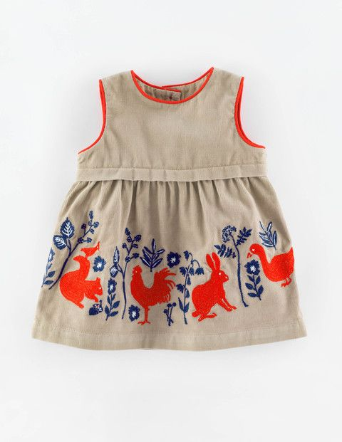 Woodland Animal Cord Pinnie 73165 Pinnies at Boden