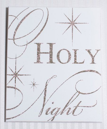 16 best christmas decorations images on pinterest for O holy night decorations