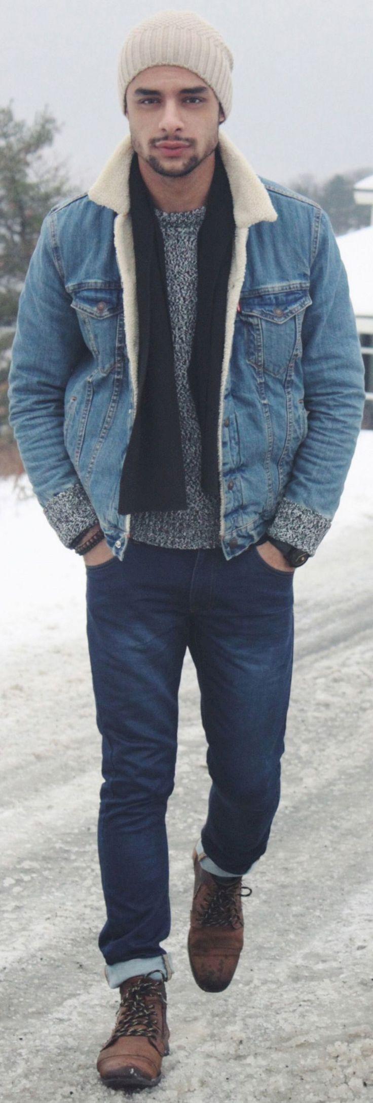 Amazing 35+ Most Popular Men Winter Outfit Ideas https://www.tukuoke.com/35-most-popular-men-winter-outfit-ideas-7119