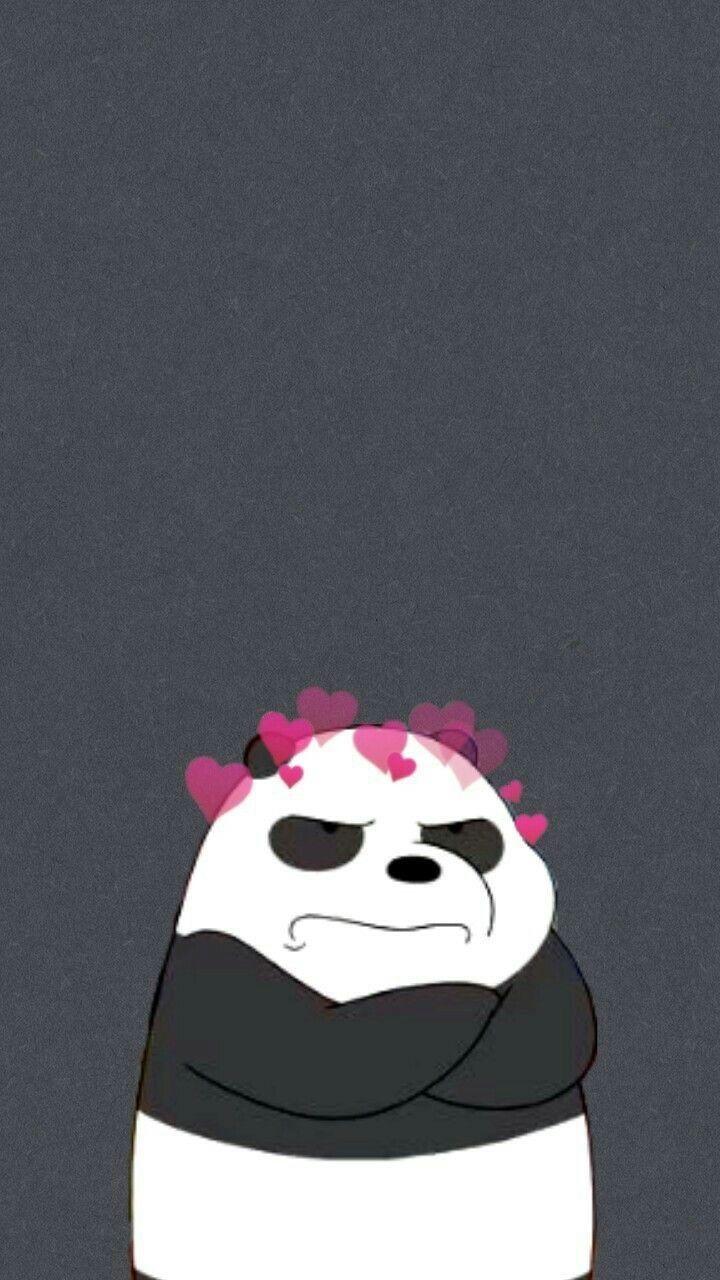 Pin By Te Te On باندا Panda Wallpaper Iphone Bear Wallpaper Cute Panda Wallpaper