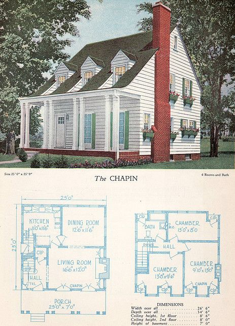 859 best dutch colonial images on pinterest beautiful for Antique colonial house plans
